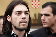 At 25 years of age Ivan Vilibor Sincic is Croatia's youngest ever presidential candidate.