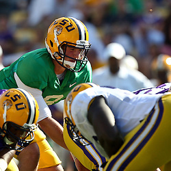 April 9, 2011; Baton Rouge, LA, USA;  during the 2011 Spring Game at Tiger Stadium.   Mandatory Credit: Derick E. Hingle