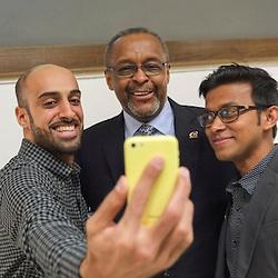 International Students meet the President