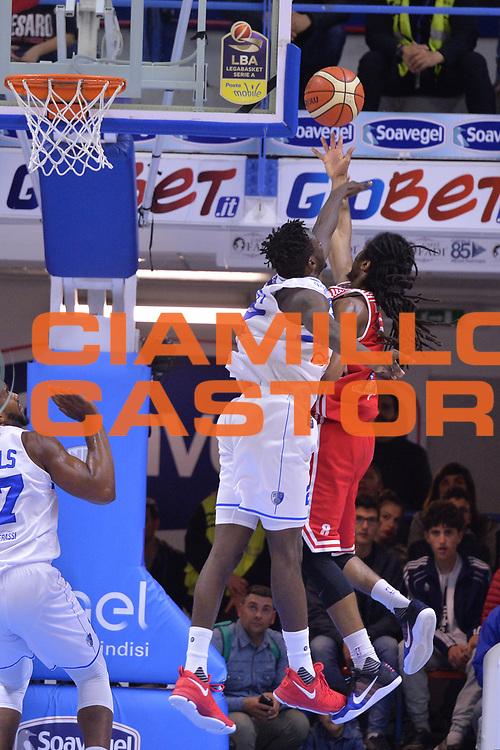 Thornton Marcus<br /> Enel Brindisi - Consultinvest Pesaro<br /> BASKET Serie A 2016 <br /> Brindisi 09/04/2017<br /> FOTO CIAMILLO / M.Longo