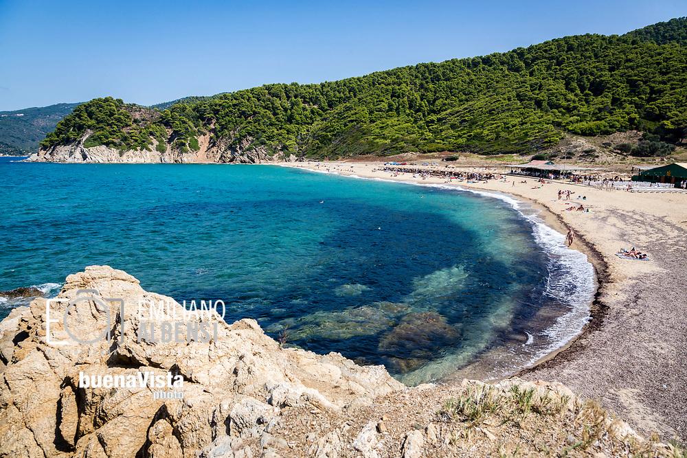 Emiliano Albensi<br /> Settembre 2017<br /> La spiaggia di Aselinos vista dall'alto<br /> <br /> Emiliano Albensi<br /> September 2017<br /> A view of Aselinos beach from the top