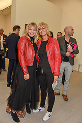 Kate Thornton and Jane Moore at the START Art Fair - Preview Evening held at the Saatchi Gallery, Duke of York's HQ, King's Road, London on 25th September 2019.