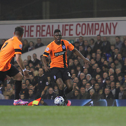 Spurs v Brighton   Capital One Cup   29 October 2014