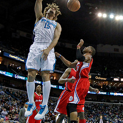 Mar 27, 2013; New Orleans, LA, USA; XXXX during the second quarter of a game at the New Orleans Arena. Mandatory Credit: Derick E. Hingle-USA TODAY Sports