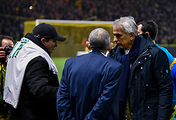 January 30, 2019 - Nantes, France - Jean Louis Gasset ( entraineur Saint Etienne ) - HALILHODZIC Vahid  (Credit Image: © Panoramic via ZUMA Press)