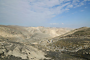 Israel, Jordan Valley, Wadi Qelt (Wadi Perat) offroad hiking