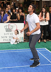 August 23, 2018 - New York City, New York, U.S. - Tennis player MISCHA ZVEREV attends the 2018 Lotte Palace Invitational Badminton Tournament held at the Lotte New York Palace. (Credit Image: © Nancy Kaszerman via ZUMA Wire)