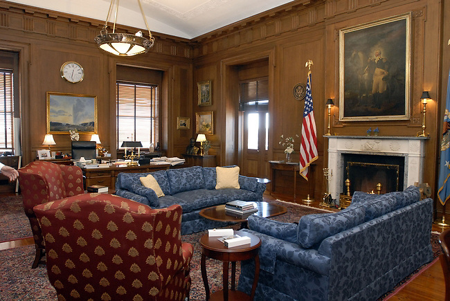 Stock photo of the Department of the Interior Secretary's office, Washington, DC