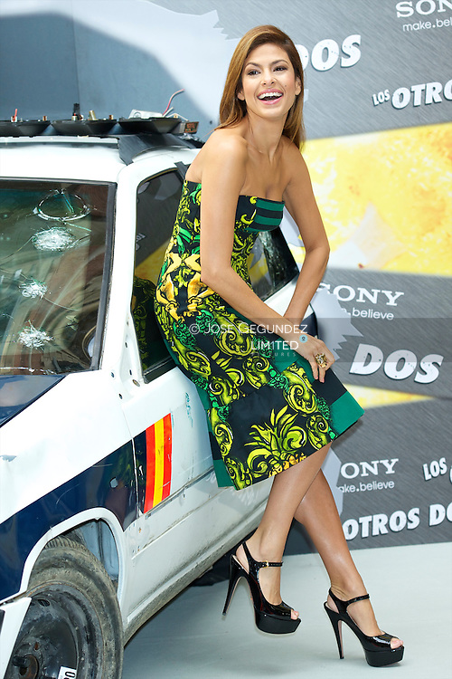 Eva Mendes attends a photocall for 'The Other Guys' at Hotel Santo Mauro in Madrid