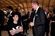Manuel Bortuzzo , Mauro Baldissoni <br /> Roma 12-4-2019 Nuvola, Roma Convention Center <br /> Cena di Gala Formula E <br /> Photo Andrea Staccioli / Insidefoto
