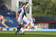 Craig Conway of Blackburn Rovers carries the ball before scoring the opening goal of the game to make it 1-0 during the EFL Sky Bet Championship match between Blackburn Rovers and Burton Albion at Ewood Park, Blackburn, England on 20 August 2016. Photo by Simon Brady.
