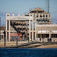 United States Coast Guard Sandy Hook Construction