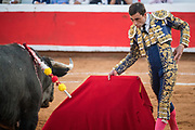 Bullfighter Paco Ureña at the Plaza de Toros March 3, 2018 in San Miguel de Allende, Mexico. Bullfighter Paco Urena at the Plaza de Toros March 3, 2018 in San Miguel de Allende, Mexico.
