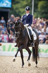 Van Der Putten Marieke, (NED), Four Legends<br /> Final 5 years old horses<br /> World Championship Young Dressage Horses - Verden 2015<br /> © Hippo Foto - Dirk Caremans<br /> 08/08/15