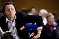 Nederland. Amsterdam, 6 oktober 2007.<br /> PvdA Congres in de RAI. Minister Bert Koenders van Ontwikkelingssamenwerking.<br /> Foto Martijn Beekman <br /> NIET VOOR TROUW, AD, TELEGRAAF, NRC EN HET PAROOL