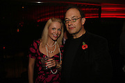 Edward Aydin and Anastasia Smith, Drinks party to launch a new Thomas Pink shirt called The Mogul which has a pocket which houses one's cigar. Hostyed by the Spectator and Thomas Pink. Floridita. Wardour St. London. 1 November 2006. -DO NOT ARCHIVE-© Copyright Photograph by Dafydd Jones 66 Stockwell Park Rd. London SW9 0DA Tel 020 7733 0108 www.dafjones.com