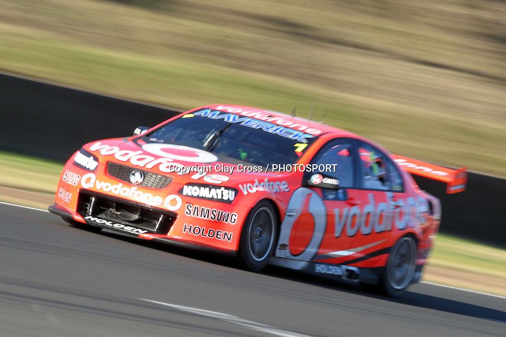Jamie Whincup (TeamVodafone Holden). Sydney Motorsport Park 360 ~ Race 19 2012 V8 Supercar Championship Series. Sydney Motorsport Park, Sydney on Sunday 26 August 2012. Photo: Clay Cross / photosport.co.nz