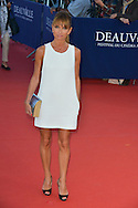 Axelle Laffont arrives at the 'Mr Holmes' Premiere red carpet during the 41st Deauville American Film Festival on September 10, 2015 in Deauville, France