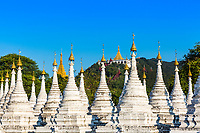 Sandamuni Pagoda temple at Mandalay city in Myanmar (Burma)
