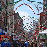 San Gennaro Festival in New York's Little Italy