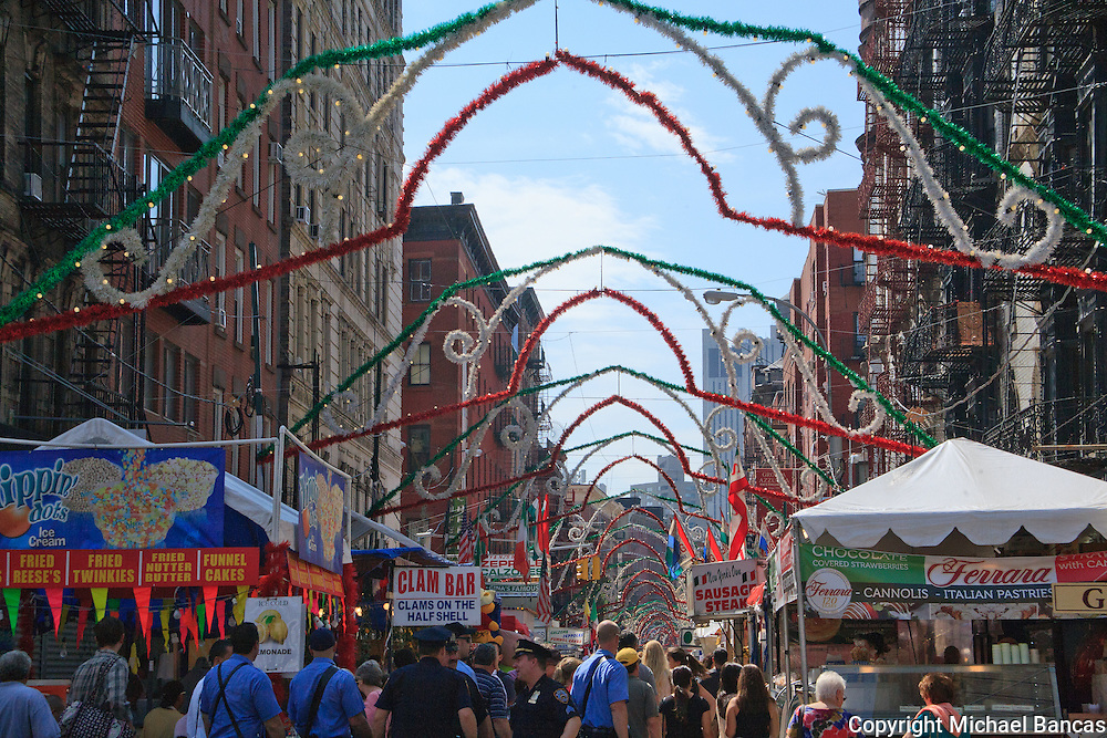 San Gennaro Festival in New York's Little Italy