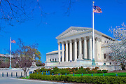 U. S. Supreme Court Building in Washington, DC, District of Columbia, USA,  Capital of the United States