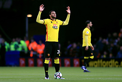 Watford's Etienne Capoue's prepares to kick off