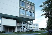 LKH Landeskrankenhaus, Hartberg.Architektur: Klaus Kada.Landschaftsarchitektur: Auböck & Karasz