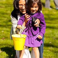 Easter Bunny Visits Highlands Rec Park