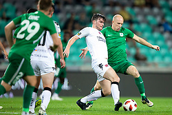Tomislav Tomic of NK Olimpija Ljubljana during 1st Leg football match between NK Olimpija Ljubljana and FC Crausaders in 2nd Qualifying Round of UEFA Europa League 2018/19, on July 26, 2018 in SRC Stozice, Ljubljana, Slovenia. Photo by Urban Urbanc / Sportida