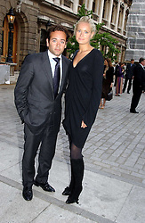 KALITA AL-SWAIDI and her brother TOWFIK AL-SWAIDI at the Royal Academy of Arts Summer Exhibition Preview Party held at Burlington House, Piccadilly, London on 2nd June 2005<br />