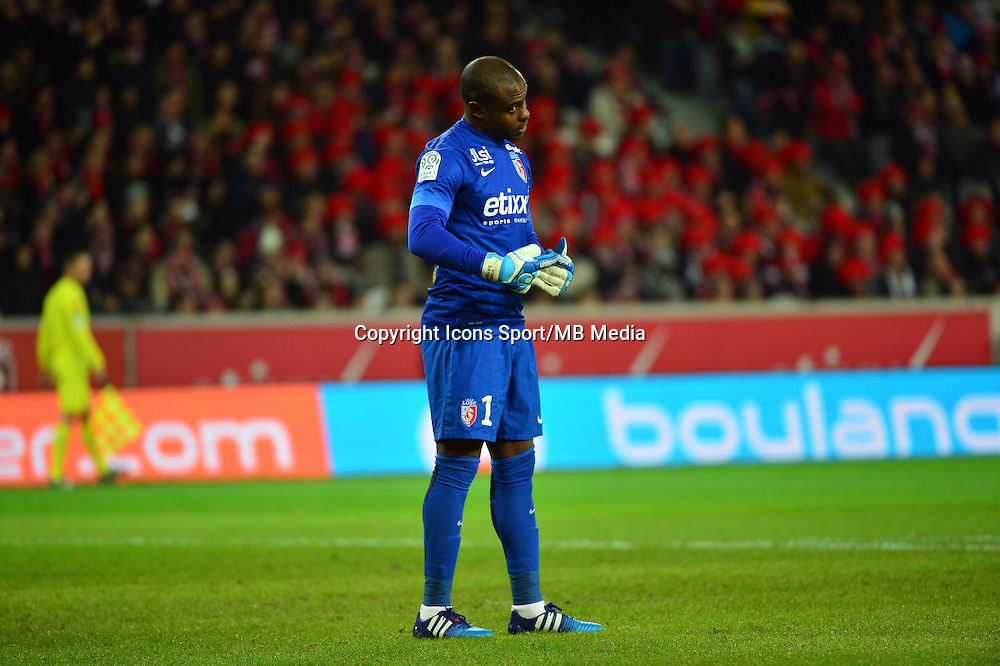 Vincent ENYEAMA  - 24.01.2015 - Lille / Monaco - 22eme journee de Ligue1<br />