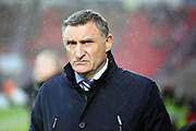 Blackburn Rovers Manager Tony Mowbray during the EFL Sky Bet League 1 match between Doncaster Rovers and Blackburn Rovers at the Keepmoat Stadium, Doncaster, England on 24 April 2018. Picture by Mick Atkins.