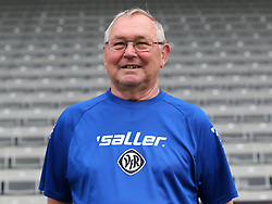 14.07.2015, Scholz Arena, Aalen, GER, 2. FBL, VfR Aalen, Fototermin, im Bild Betreuer Guenther Hammer // during the official Team and Portrait Photoshoot of German 2nd Bundesliga Club VfR Aalen at the Scholz Arena in Aalen, Germany on 2015/07/14. EXPA Pictures © 2015, PhotoCredit: EXPA/ Eibner-Pressefoto/ Langer<br /> <br /> *****ATTENTION - OUT of GER*****