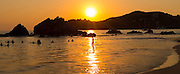 Sunset, Playa La Ropa, Zihuataneo, Guerrero, Mexico