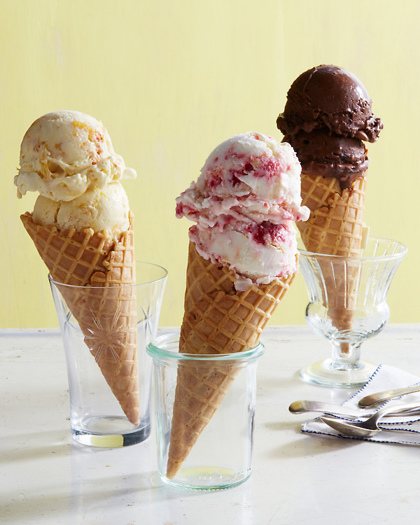 Ice Cream, Gelato, Yogurt