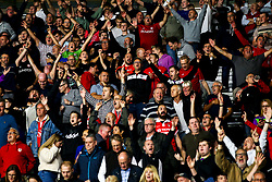 Bristol City fans at Derby County - Mandatory by-line: Robbie Stephenson/JMP - 20/08/2019 - FOOTBALL - Pride Park Stadium - Derby, England - Derby County v Bristol City - Sky Bet Championship