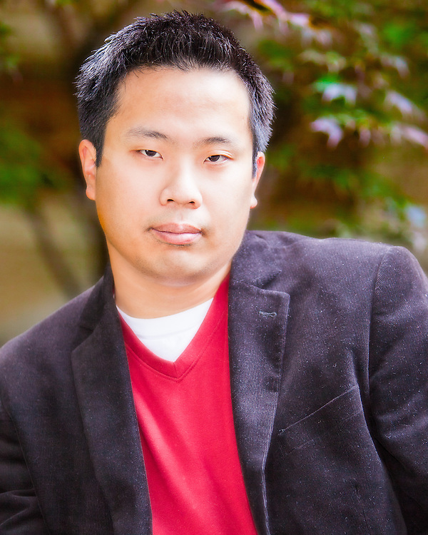 Portrait of Journalist and Author Thomas Lee