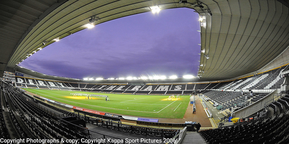PRIDE PARK STADIUM, DERBY COUNTY FOOTBALL CLUB Derby 2012