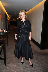 MARIELLA FROSTRUP at the 2008 Costa Book Awards held at the Intercontinental Hotel, Hamilton Place, London on 27th January 2009.