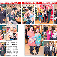 Krispy Kreme VIP Braehead had a VIP opening night.<br /> <br /> All images &copy;Warren Media 2015<br /> Lenny Warren / Warren Media<br /> 07860 830050  01355 229700<br /> lenny@warrenmedia.co.uk<br /> www.warrenmedia.co.uk