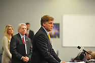 Mississippi athletic director Pete Boone speaks at a press conference at the IPF at the University of Mississippi in Oxford, Miss. on Monday, November 7, 2011. Boone announced that head football coach Houston Nutt will not be retained following the season. Boone also announced that he will resign as athletic director by December 31, 2012.
