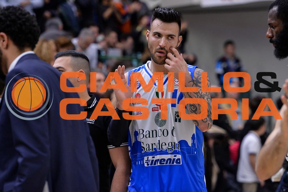 DESCRIZIONE : Campionato 2015/16 Serie A Beko Dinamo Banco di Sardegna Sassari - Dolomiti Energia Trento<br /> GIOCATORE : Brian Sacchetti<br /> CATEGORIA : Ritratto Delusione Postgame<br /> SQUADRA : Dinamo Banco di Sardegna Sassari<br /> EVENTO : LegaBasket Serie A Beko 2015/2016<br /> GARA : Dinamo Banco di Sardegna Sassari - Dolomiti Energia Trento<br /> DATA : 06/12/2015<br /> SPORT : Pallacanestro <br /> AUTORE : Agenzia Ciamillo-Castoria/L.Canu