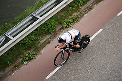 Lisa Brennauer (GER) at Boels Ladies Tour 2018 - Stage 6, an 18.6km individual time trial in Roosendaal, Netherlands on September 2, 2018. Photo by Sean Robinson/velofocus.com