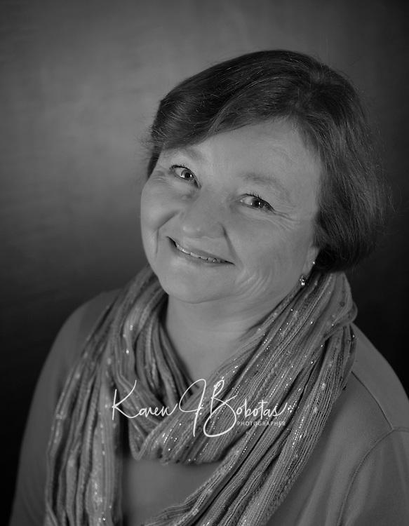 Headshot session with Patte S.  ©2016 Karen Bobotas Photographer