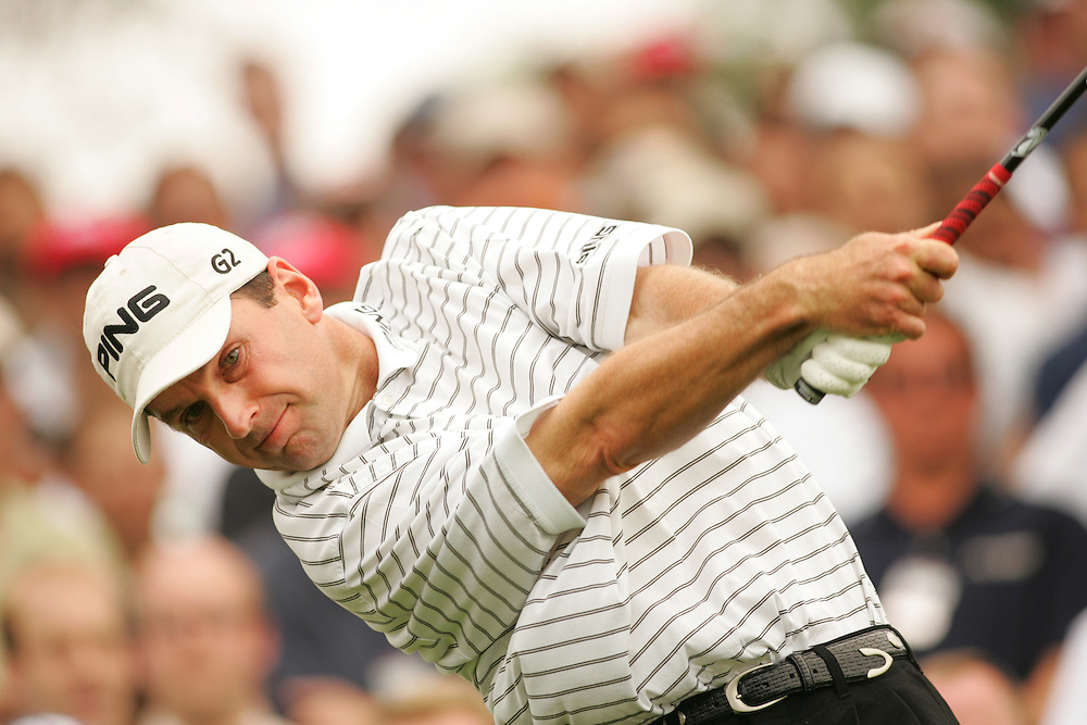 Kevin Sutherland.2005 EDS Byron nelson Championship.First Round.TPC at Las Colinas.Four Seasons Resort & Club.Irving, TX.Thursday, May 12 2005.photograph by Darren Carroll.05-12-05...