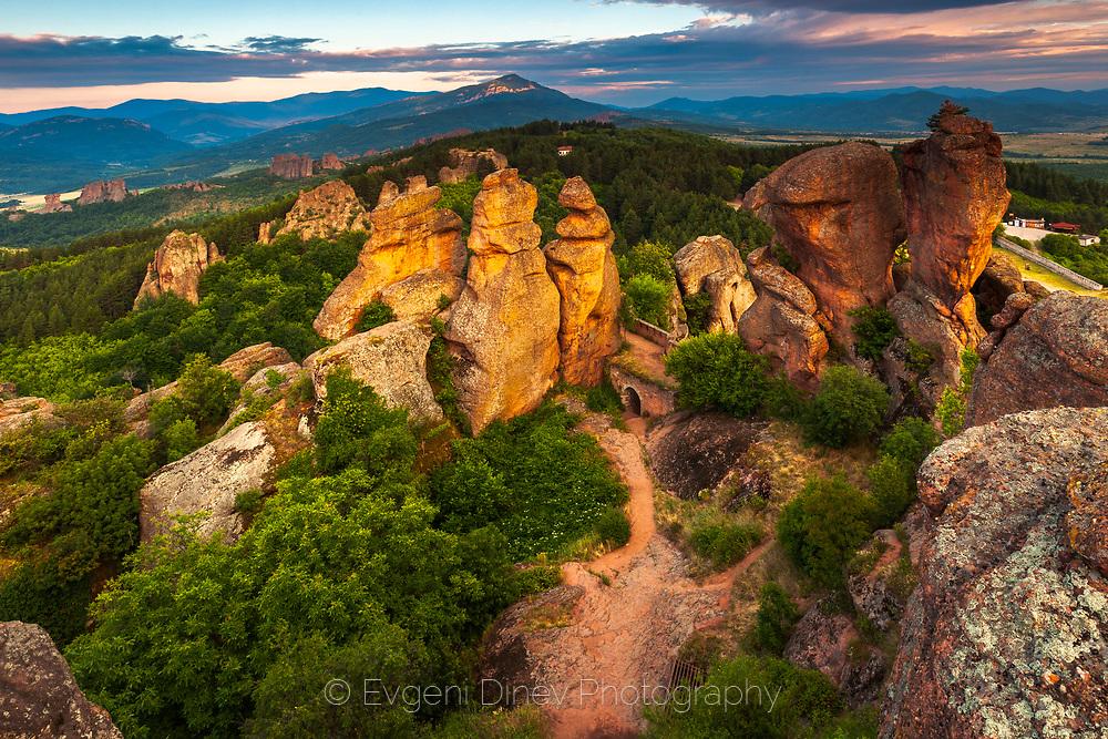 Kaleto fortress in Belogradchik Rocks