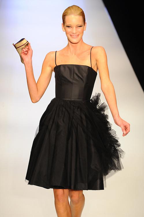 2009 Rosemount Sydney Fashion Festival featuring designs by Alex Perry, in Sydney, Australia on August 22, 2009. Photos by Kourosh Azar/Elevation (Pictured: Model)