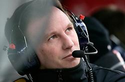 Motorsports / Formula 1: World Championship 2011, Testing in Barcelona, test, Christian Horner (GBR, Teamchef Red Bull Racing)