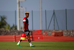 Lloyd Kelly of Bristol City carries training equipment - Mandatory by-line: Matt McNulty/JMP - 18/07/2017 - FOOTBALL - Tenerife Top Training Centre - Costa Adeje, Tenerife - Pre-Season Training